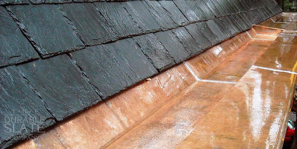 Copper Gutters Repair Installation The Durable Slate Company