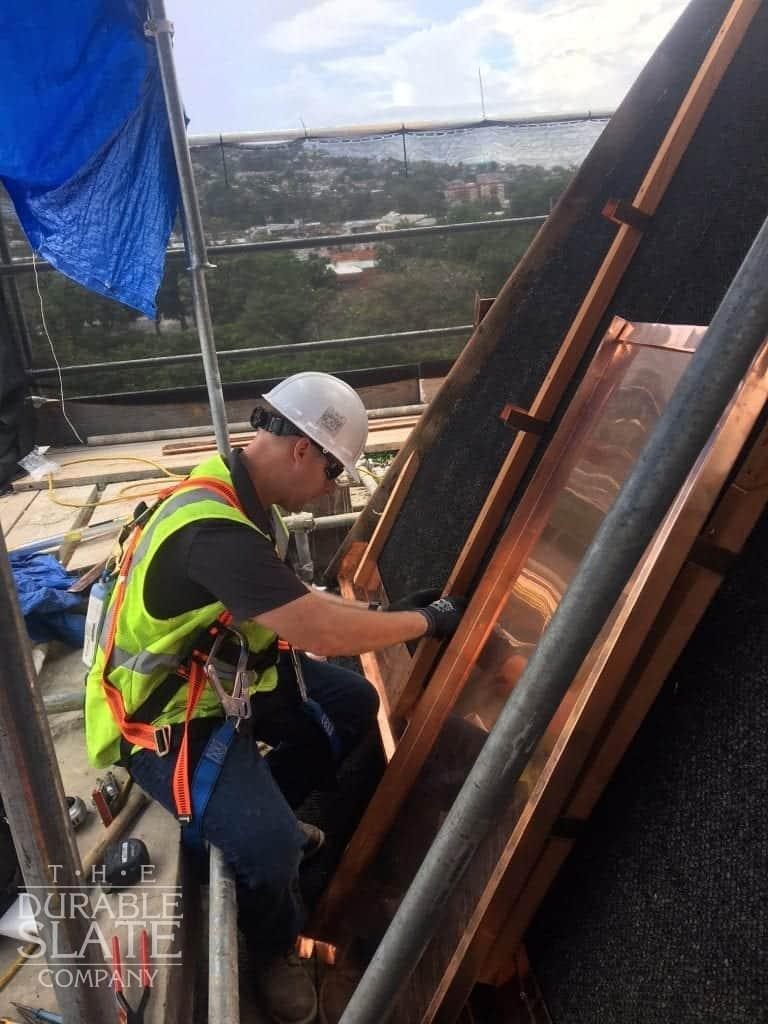 repairing a copper structure in trinidad