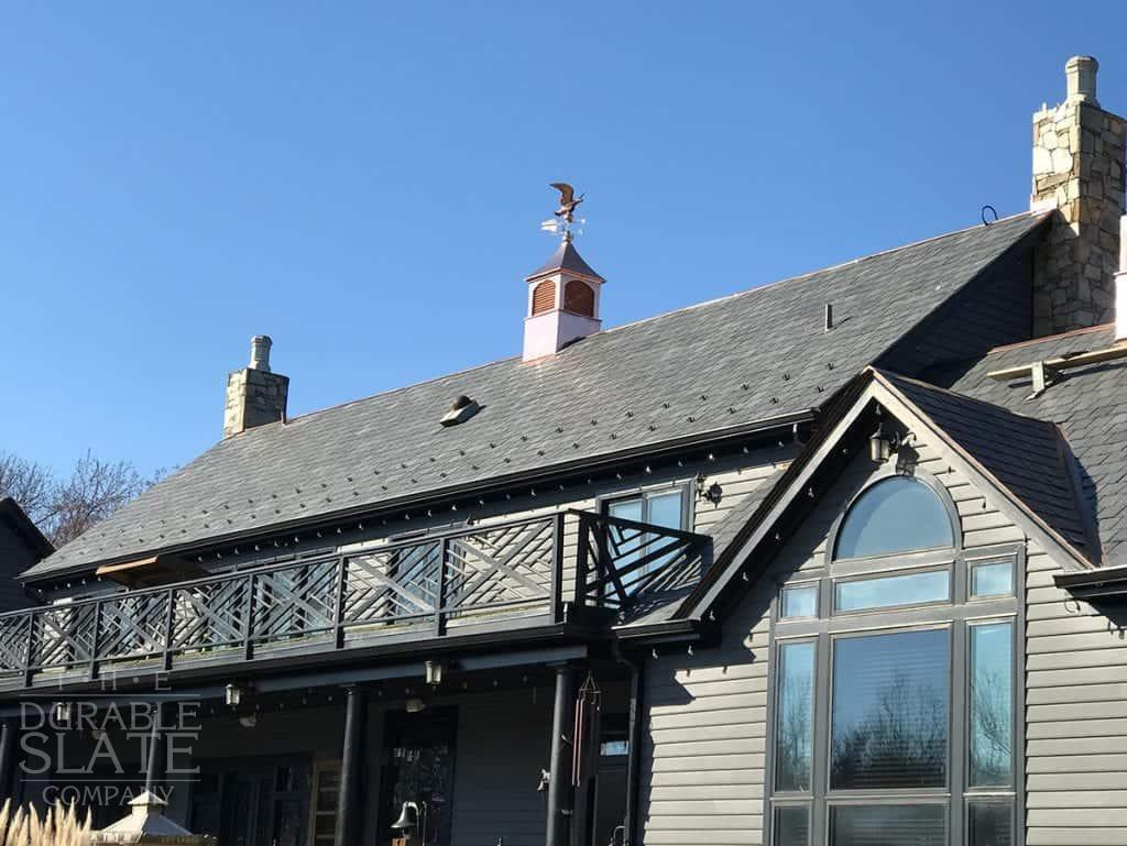 Slate Shield is 95 squares of Vermont Black for a light weight application in Annapolis, MD