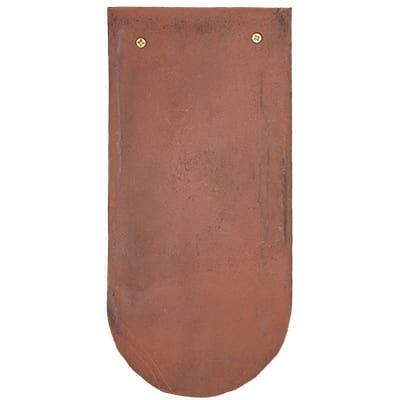 Beaver Tail Clay Roofing Tile